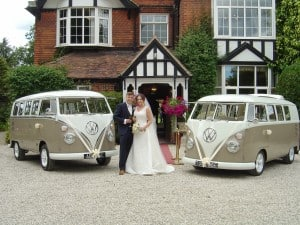 VW splitscreen wedding camper Northampton