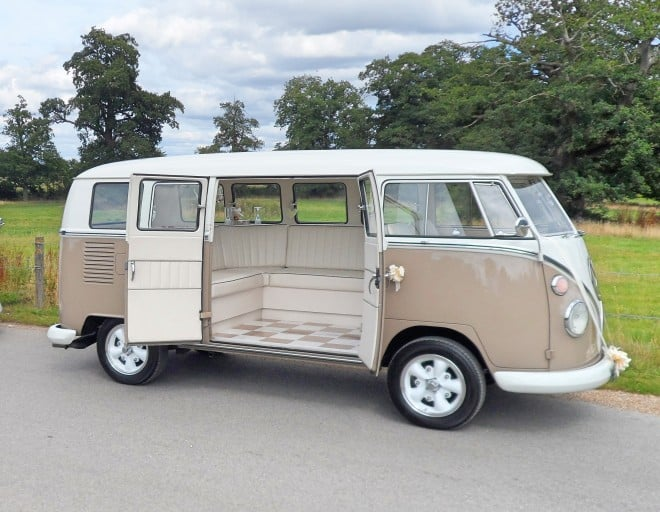 VW Split Screen Wedding Camper Northamptonshire