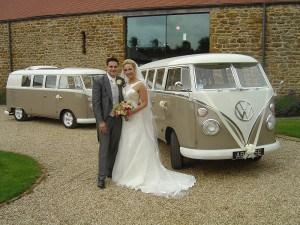 VW Split Screen Wedding Campervans