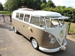 VW split screen wedding Camper Jodi