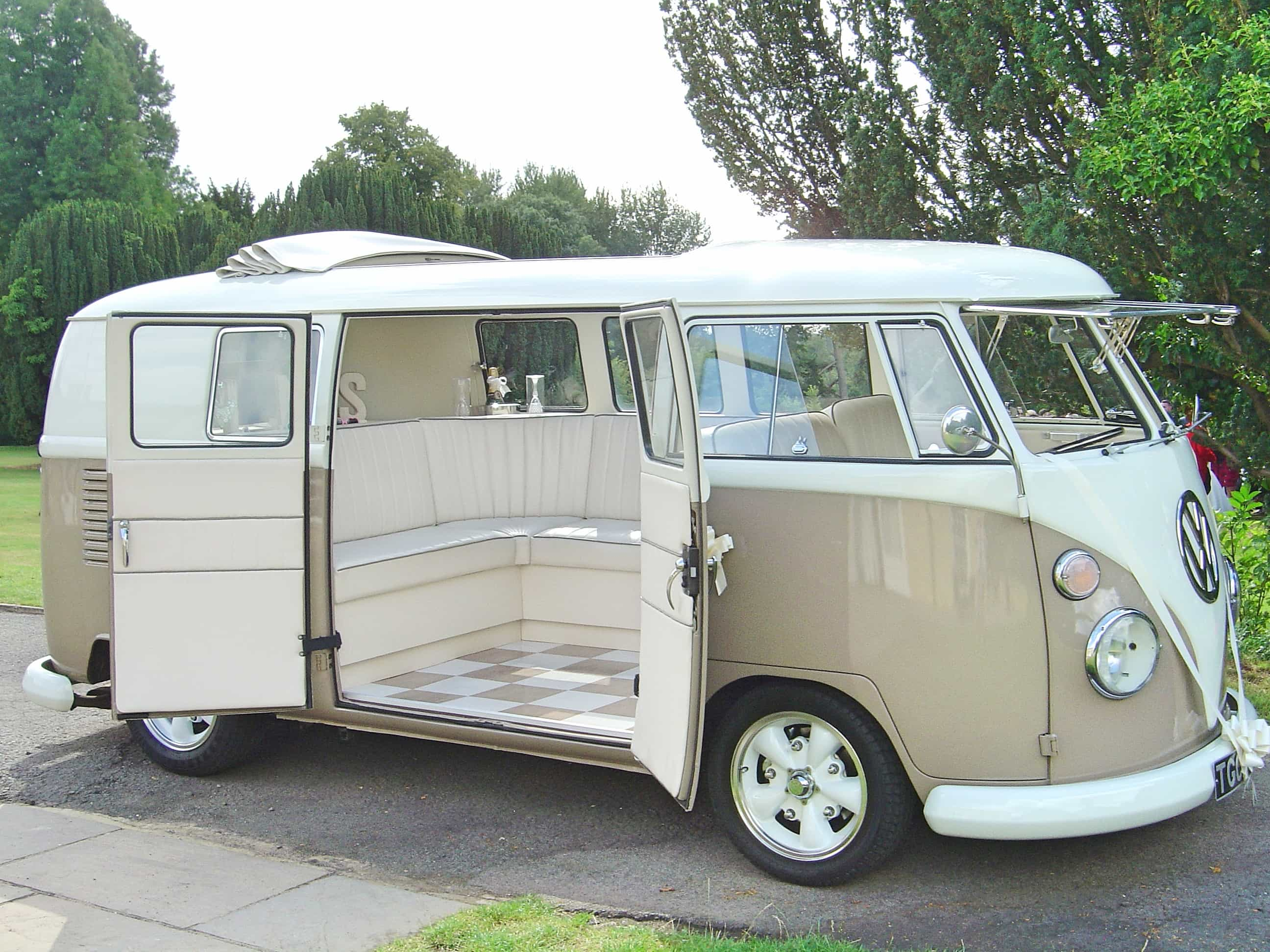 Camper Cars Our Vw Cars Silk And Satin Vw Camper Weddings