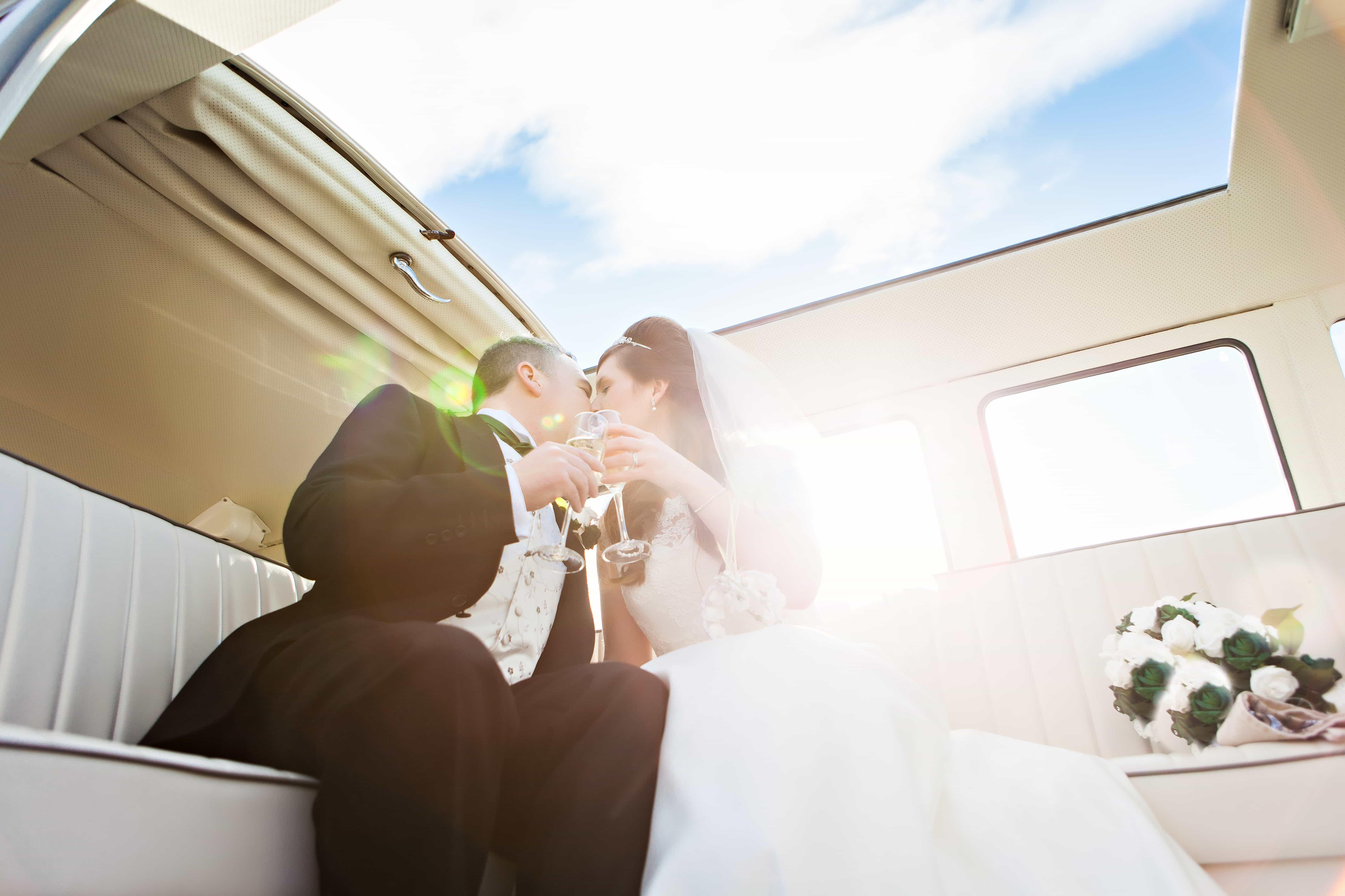 Abbe and Jodi split screen wedding campervans Northampton