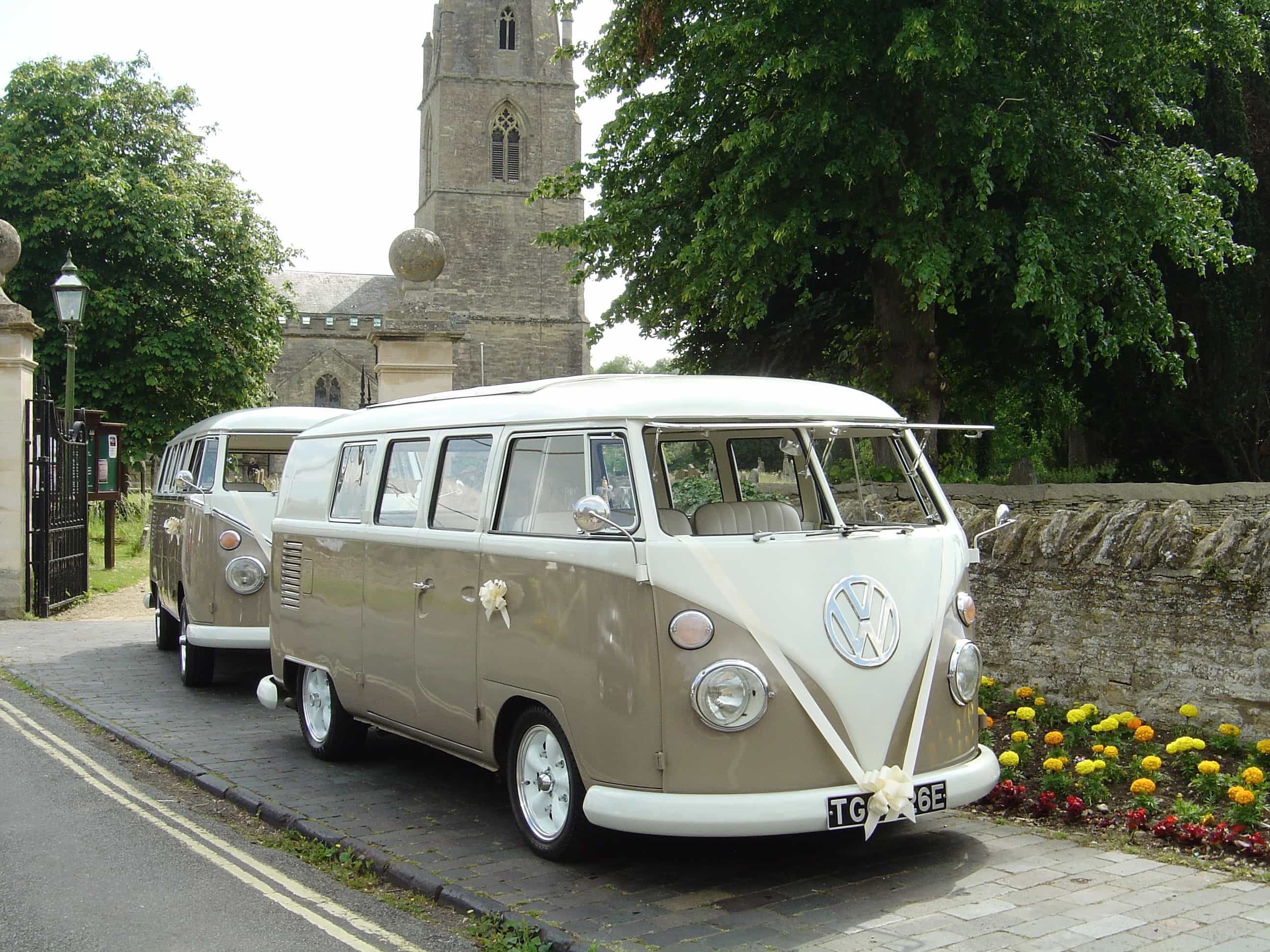 Vw Splitscreen Wedding Campers Cars Northamptonshire