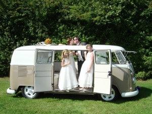 VW Splitscreen Wedding camper Northamptonshire