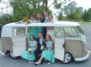 VW split screen wedding camper van Northampton