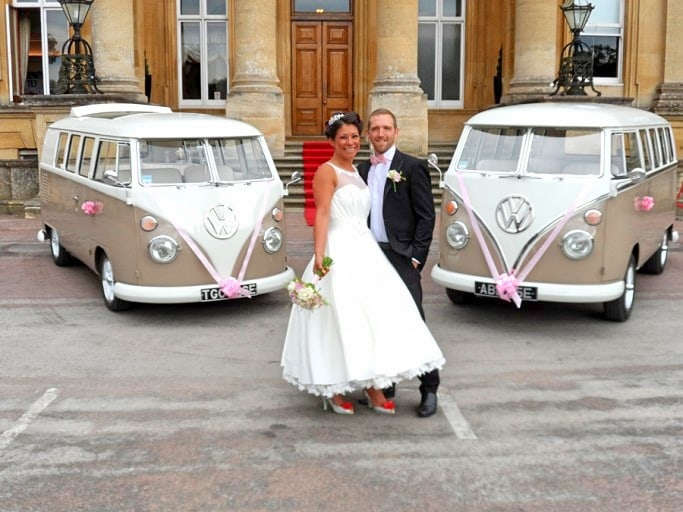 Abbe & Jodi VW wedding campers Oxford