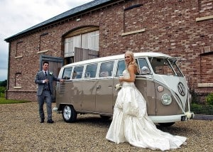 VW wedding camper Abbe